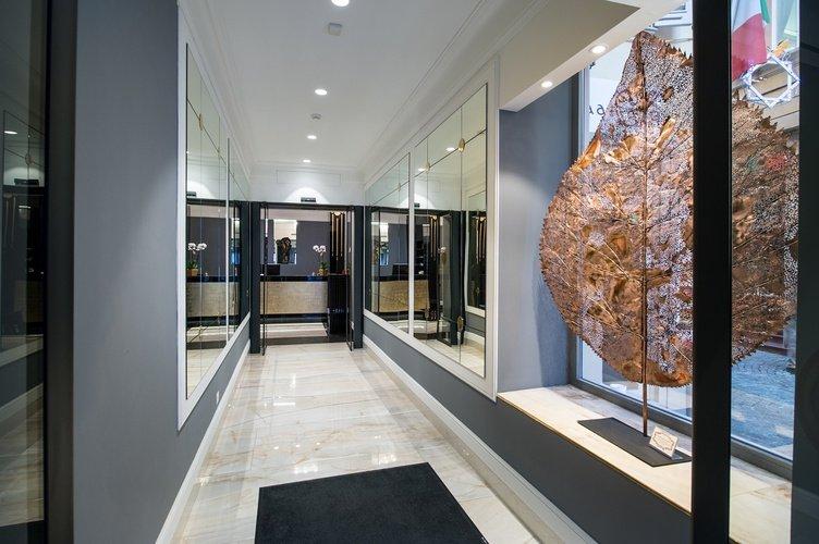 Entry Art Hotel Orologio Bologna, Italy