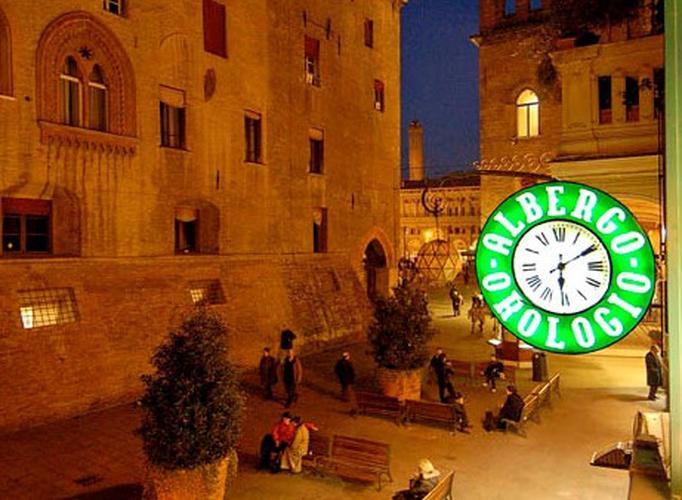 Outdoors  art hotel orologio bologna