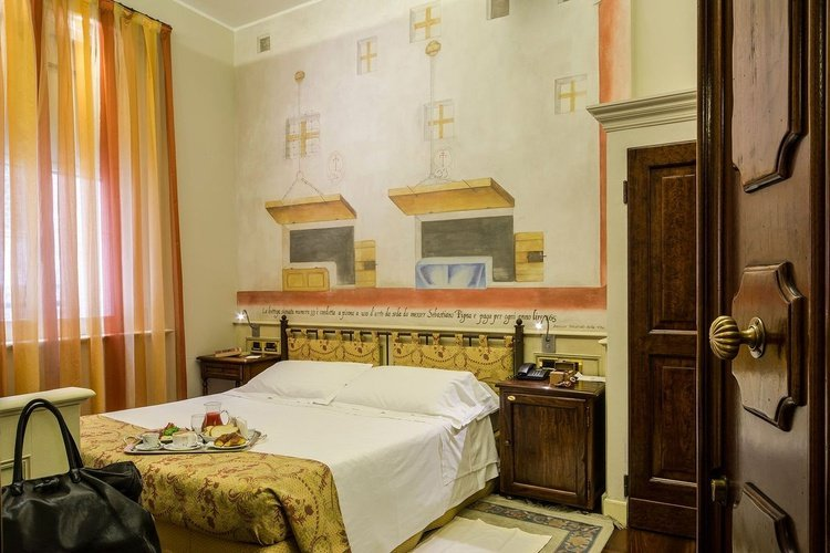 Double room art hotel commercianti bologna