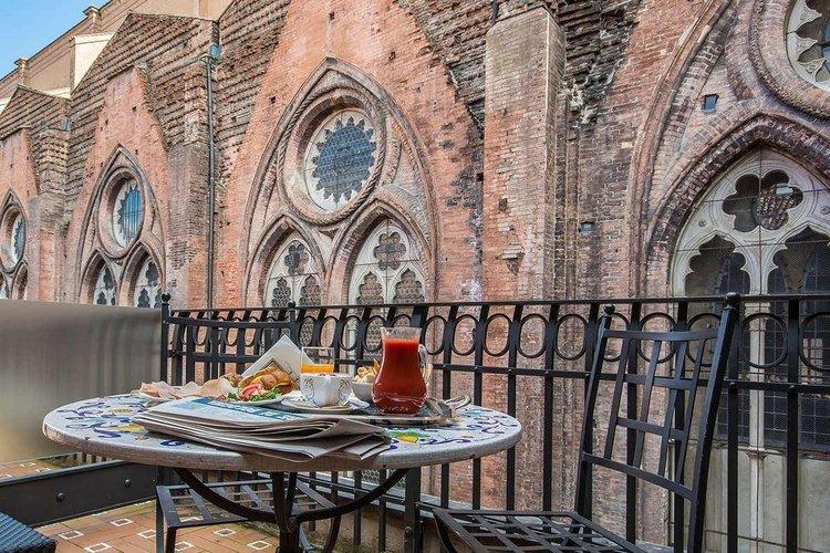 Terrace art hotel commercianti bologna