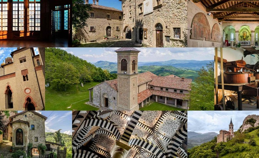 ROCCHETTA MATTEI CASTLE & OLD VILLAGES