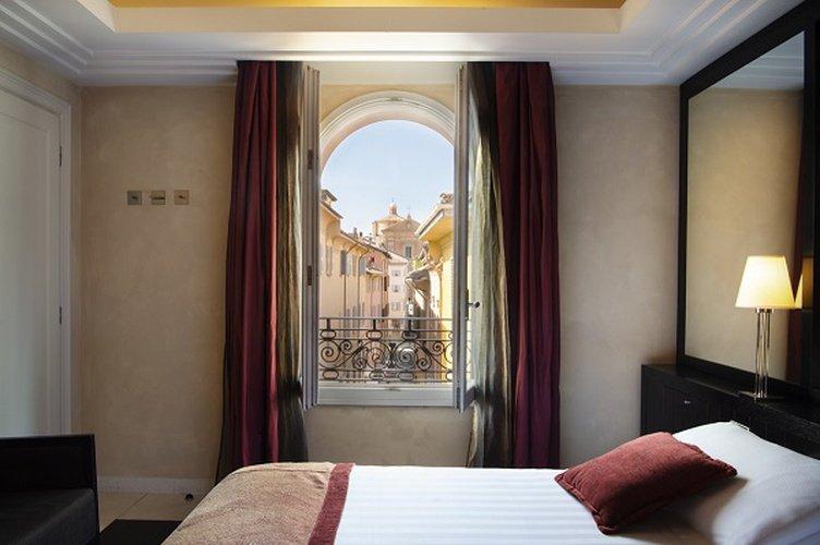Double room  Art Hotel Novecento Bologna, Italy