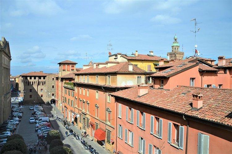Panoramic view  Art Hotel Novecento Bologna, Italy