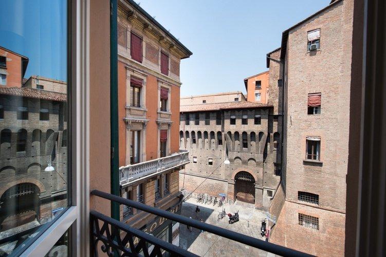 City views Art Hotel Orologio Bologna, Italy