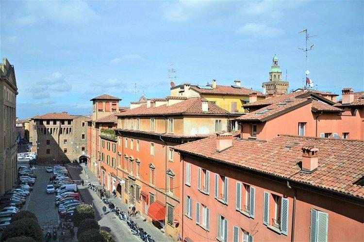 Panoramic view  art hotel novecento bologna