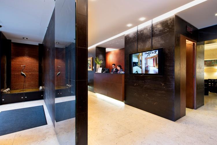 Reception  art hotel novecento bologna