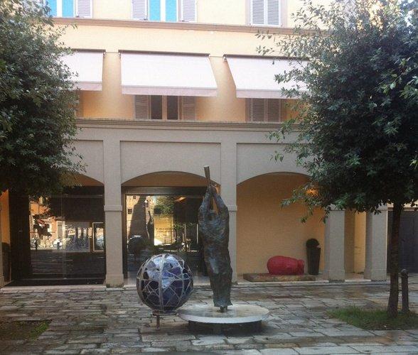 Entrance  Art Hotel Novecento Bologna, Italy