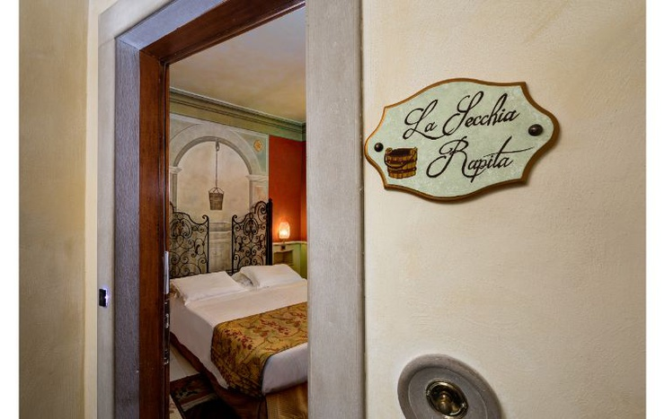 Deluxe double room with terrace  art hotel commercianti bologna